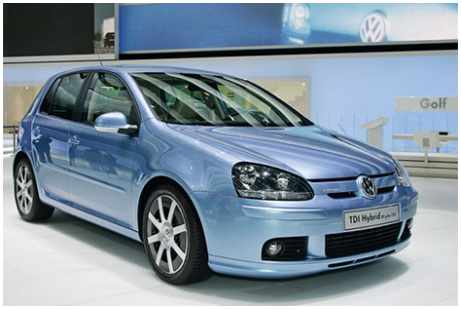 Volkswagen Golf Diesel : Sensation And Safety of Traveling